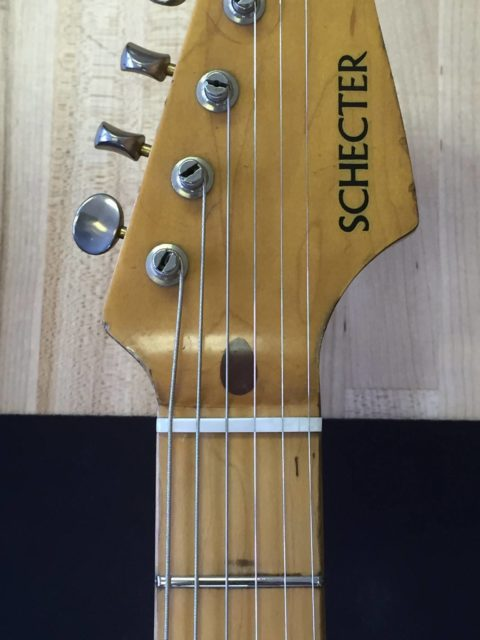 Fret Repair and Bone Nut Replacement - Kennebec Instrument and Amplfier