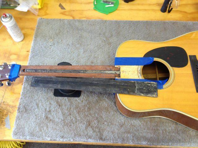 1965 Martin D-35 Restoration - Kennebec Instrument and Amplifier - Augusta, Maine