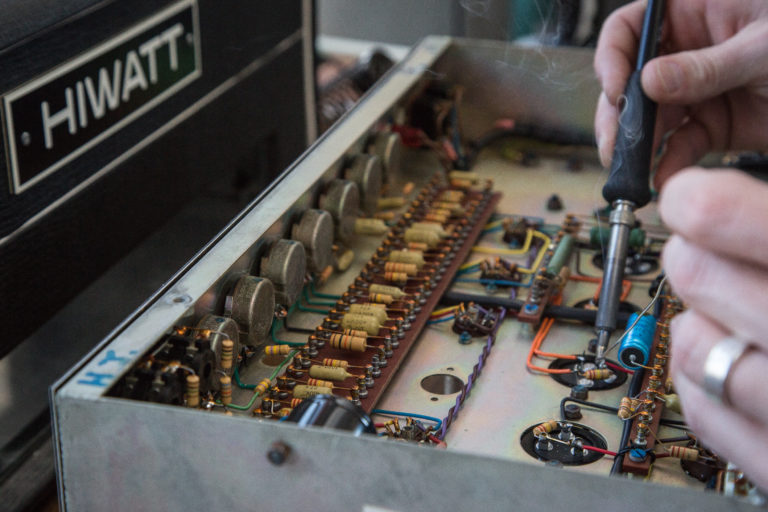 Amplifier Repair Service - Kennebec Instrument and Amplifier - Augusta, Maine