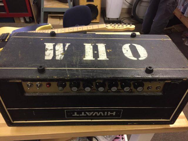WHO - HIWATT Amplifier