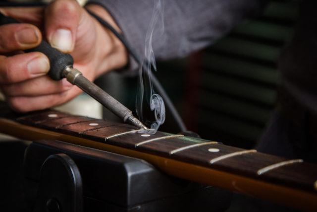 Guitar Fret Repair and Replacement