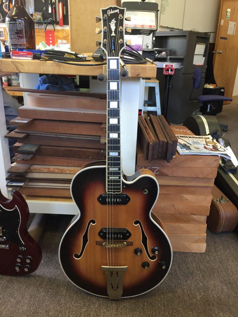 1957 Gibson L-5 Restoration | Kennebec Instrument & Amplifier