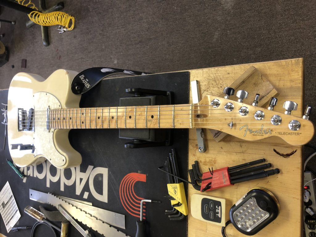 Robby Coffin's #1 Tele – Truss Rod Nut Replacement